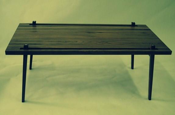 fabrication, table basse, nicolas goupil ébéniste