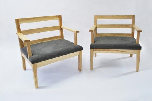 Nicolas Goupil Ébéniste, création, chaises spécialisées