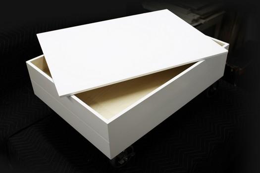 nicolas goupil ébéniste, fabrication, meuble de rangement pour dessins 2