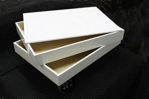nicolas goupil ébéniste, fabrication, meuble de rangement pour dessins 4